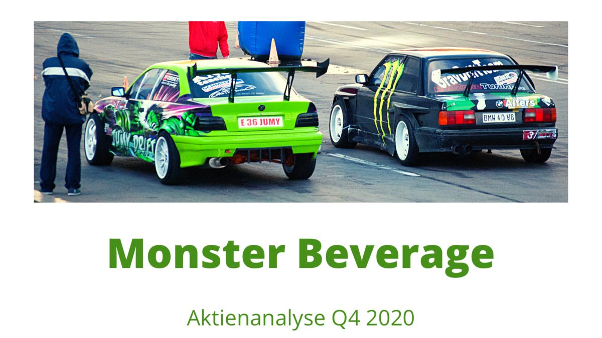 Monster Beverage Aktie Beitragsbild