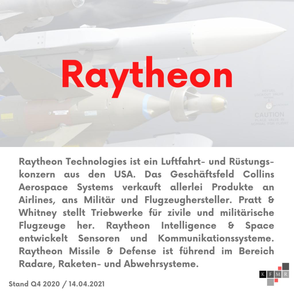 Raytheon Aktie
