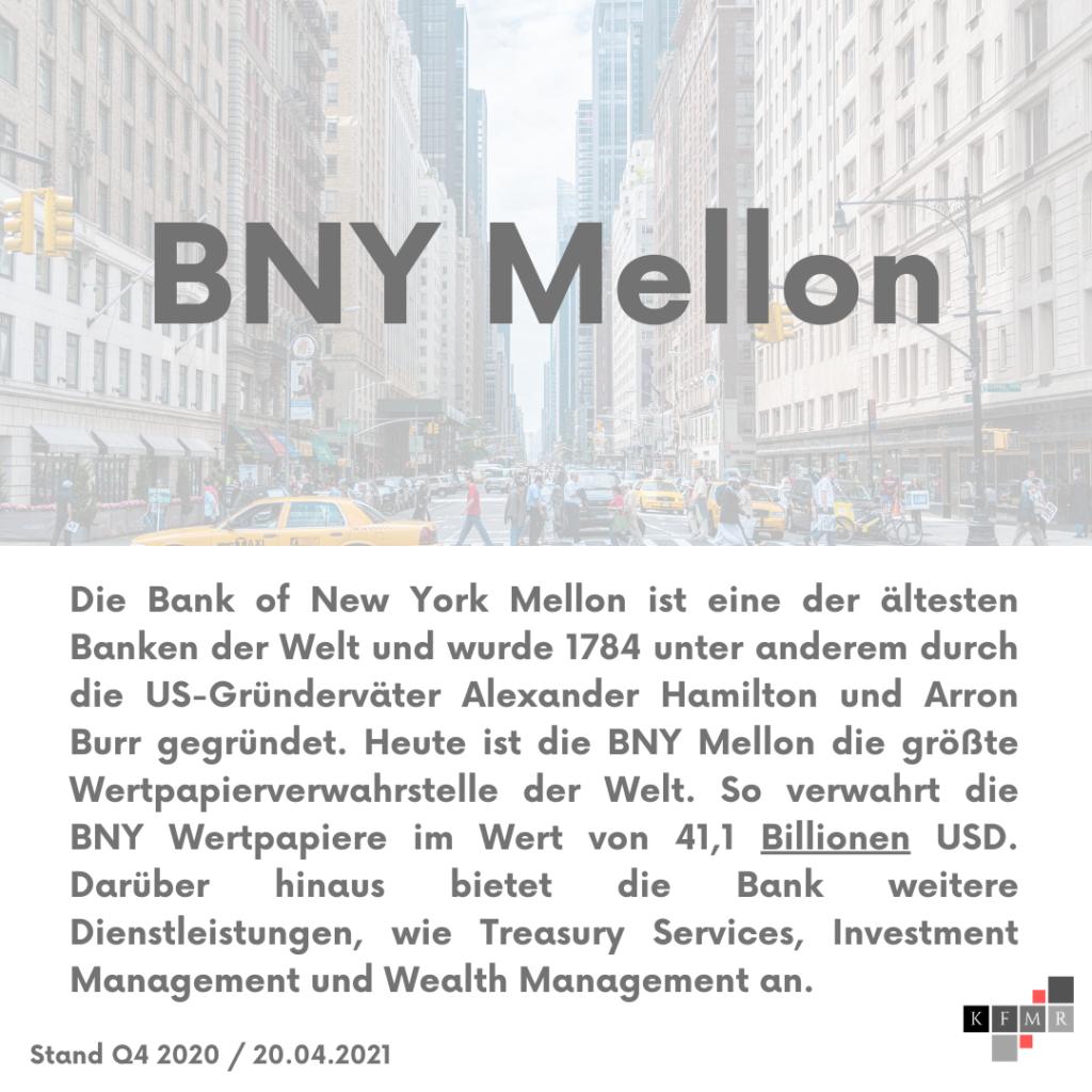 Unternehmensbeschreibung Bank of New York Mellon