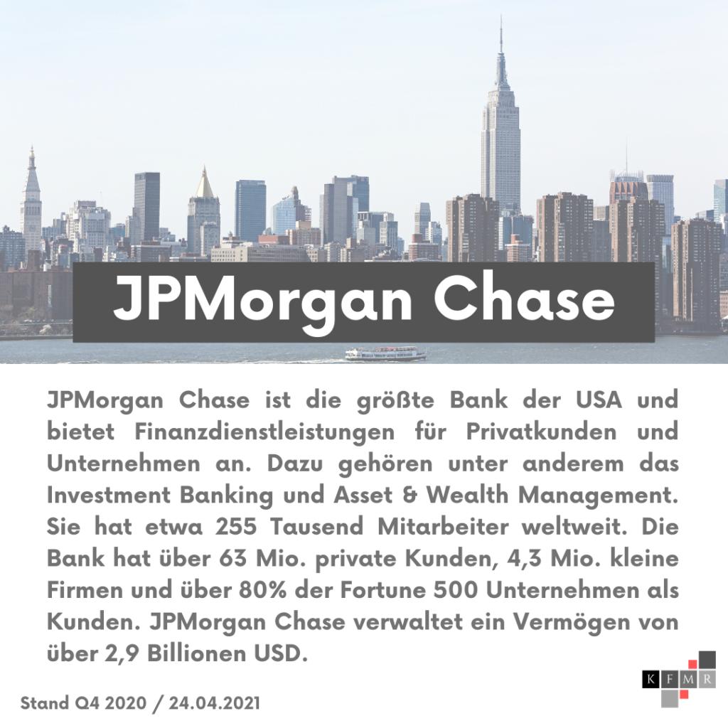 Unternehmensbeschreibung JPMorgan Chase