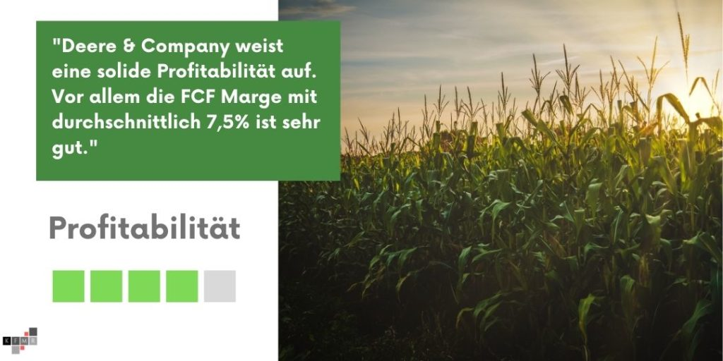 Deere & Company Profitabilität