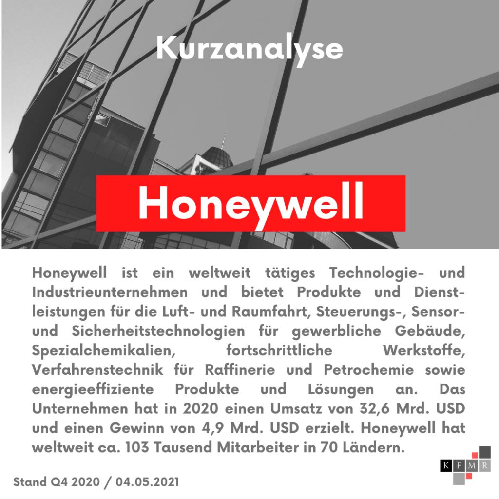 Unternehmensbeschreibung Honeywell