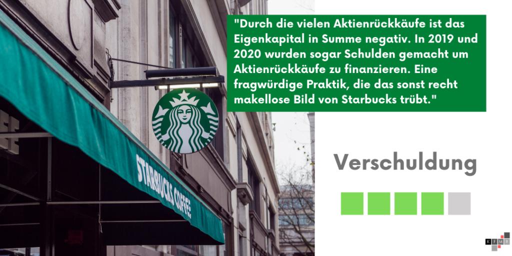 Starbucks Aktie 2021 Verschuldung