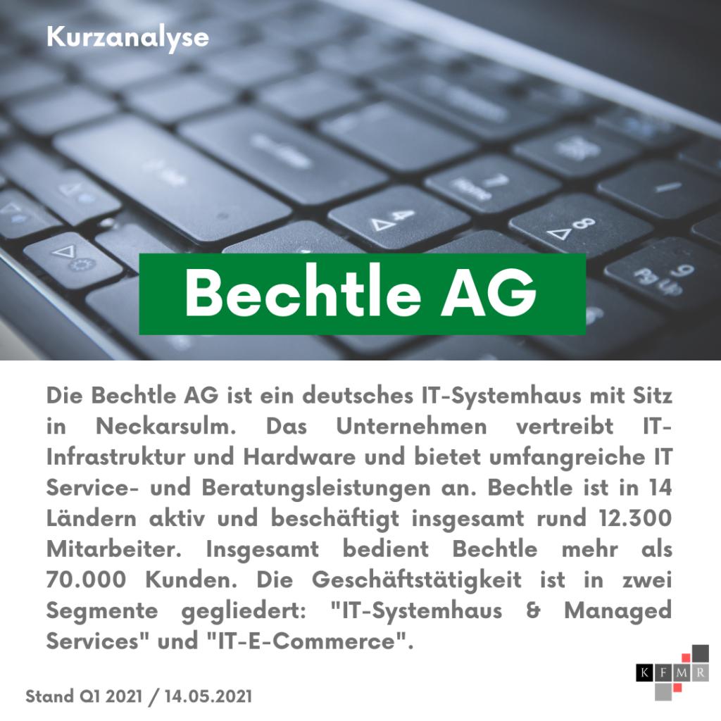 Unternehmensbeschreibung Bechtle AG