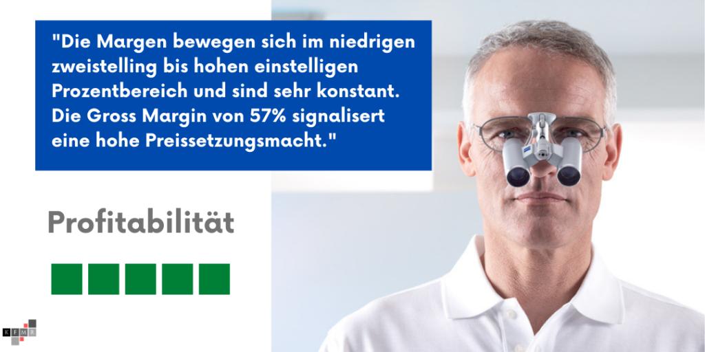 Carl Zeiss Meditec Aktie Q2 2021 Profitabilität