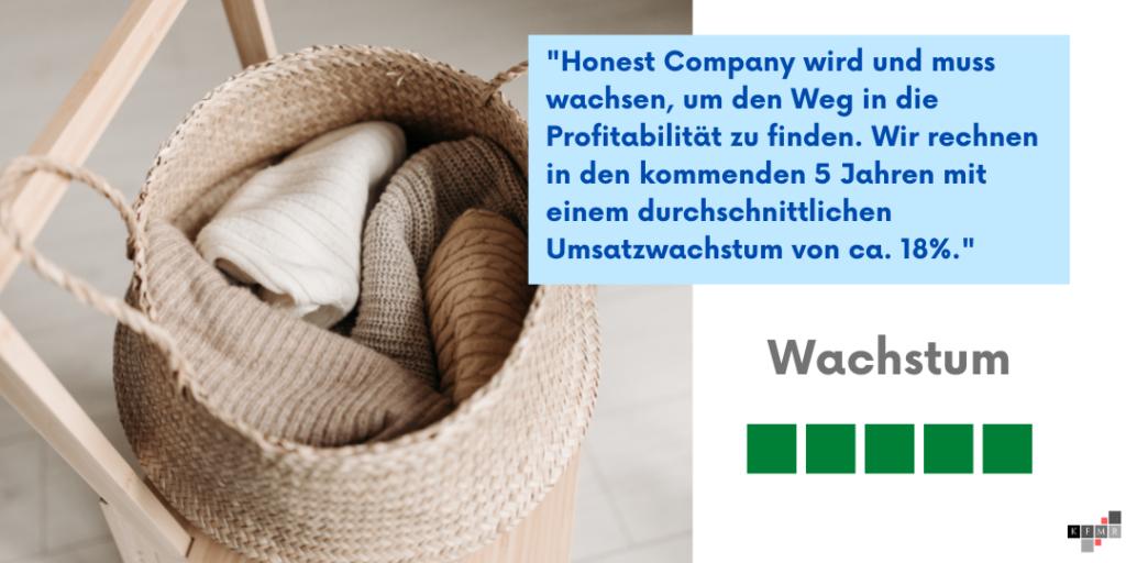 Honest Company Aktie IPO Wachstum