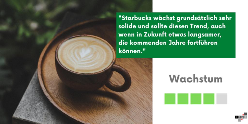 Starbucks Aktie 2021 Wachstum