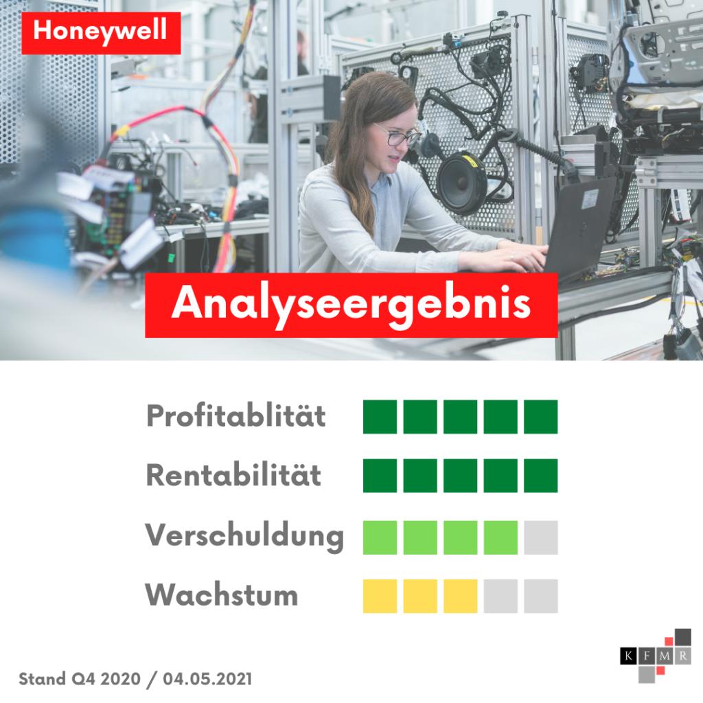 Ergebnis Aktienanalyse Honeywell Aktie