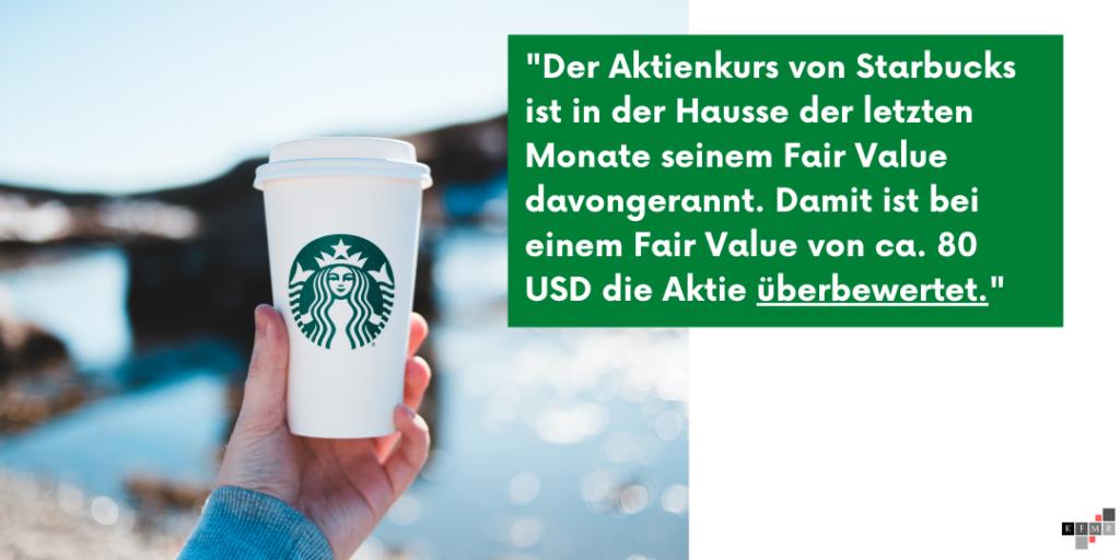 Starbucks Aktie 2021 Ergebnis
