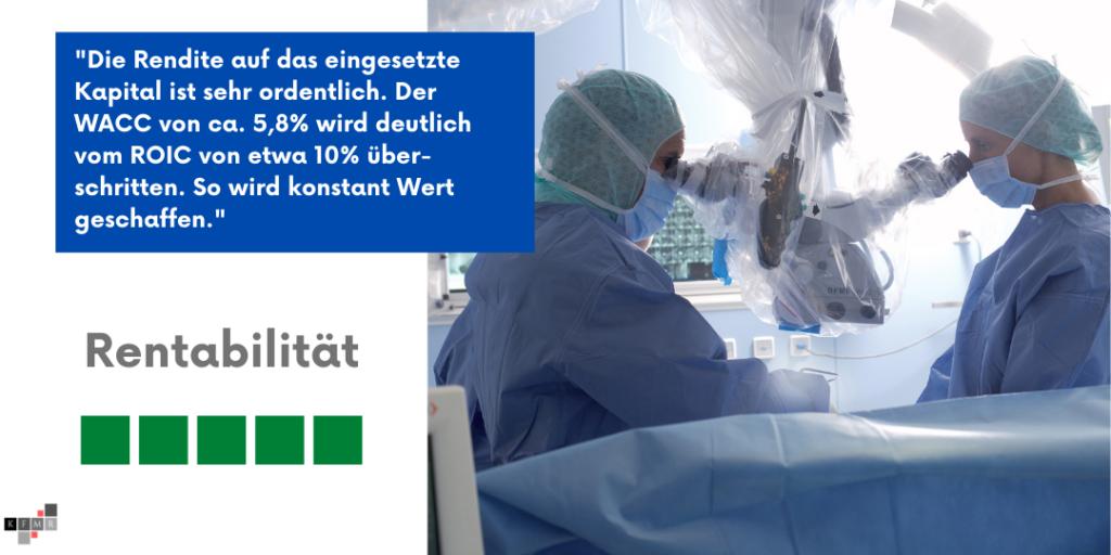 Carl Zeiss Meditec Aktie Q2 2021 Rentabilität