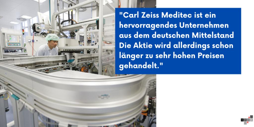 Carl Zeiss Meditec Aktie Q2 2021 Ergebnis