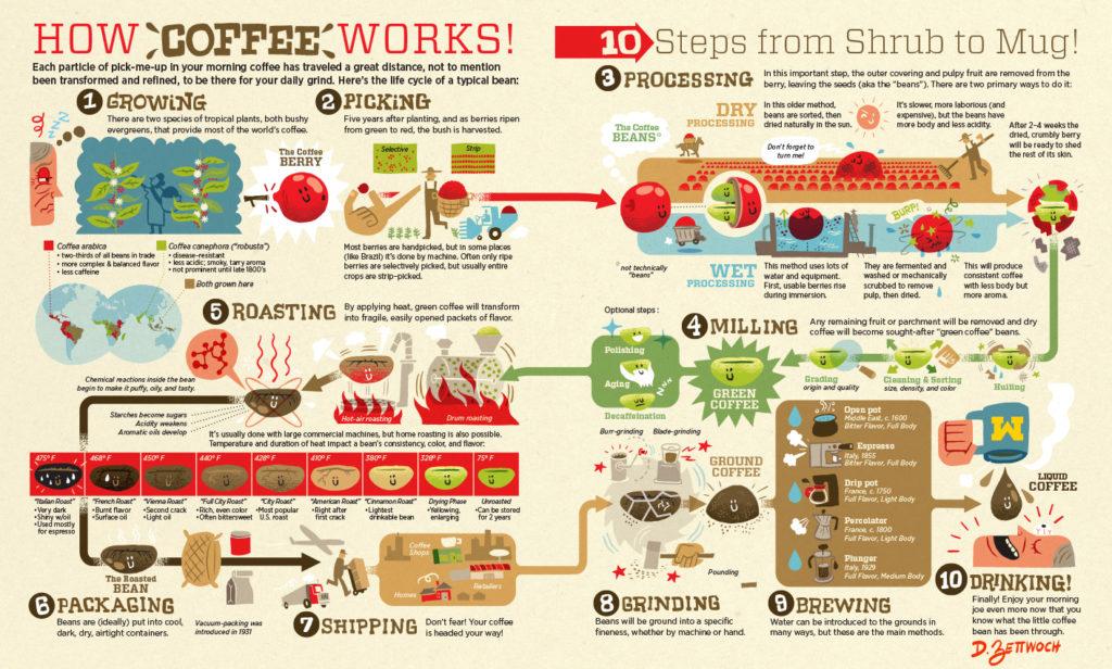 Starbucks Aktie 2021 Kaffee Wertschöpfungskette