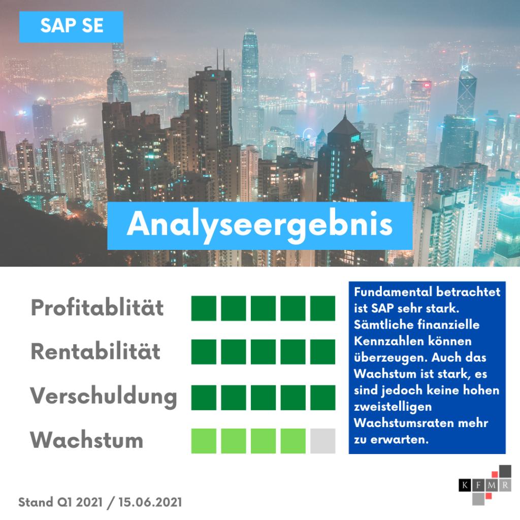 SAP SE Q1 2021 Aktie Aktienanalyse Fair Value Prognose DCF fundamentale Analyse